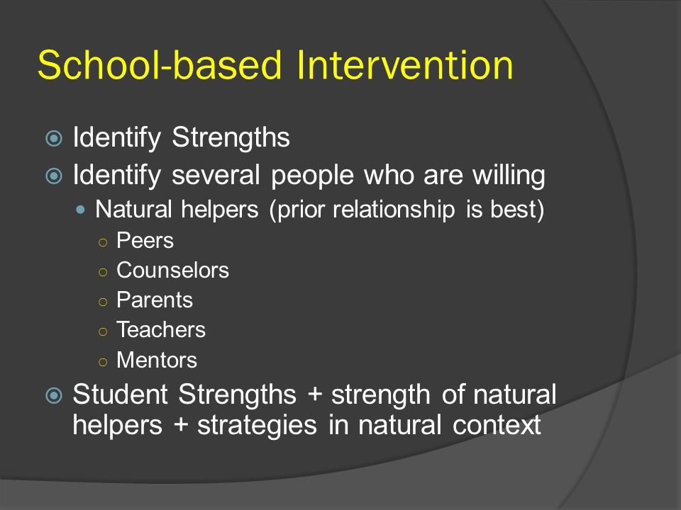 School-based Intervention