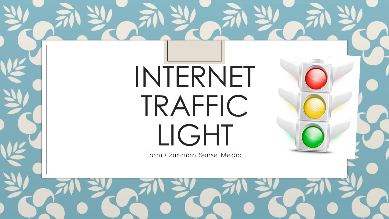 internet traffic light