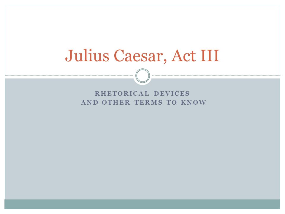 Identify examples of irony in each act in Julius Caesar and tell the function of each.