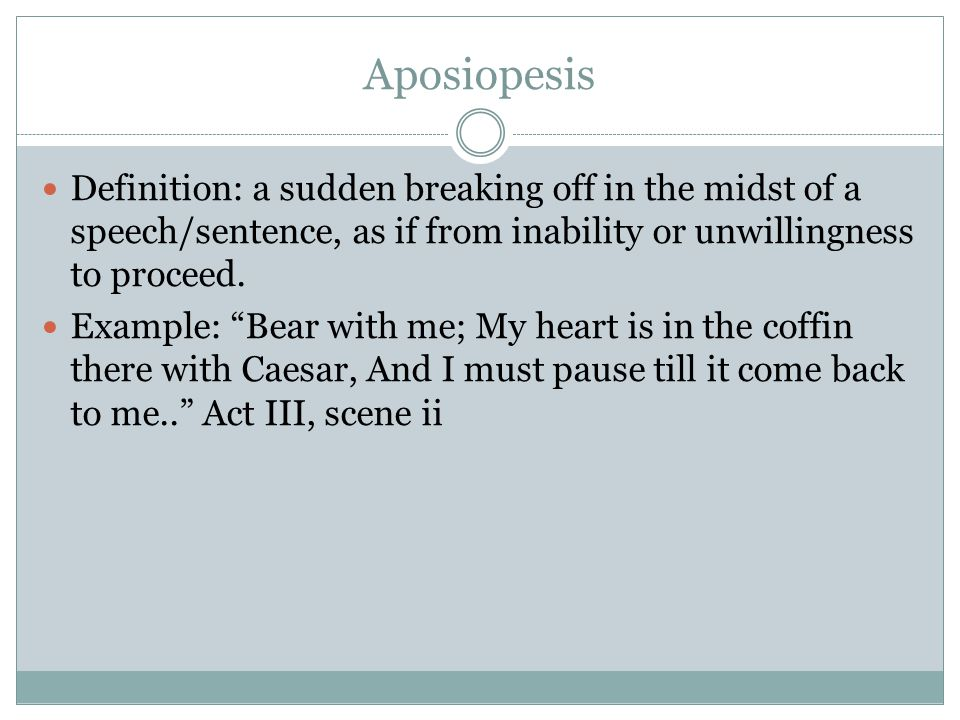 focus sentence examples