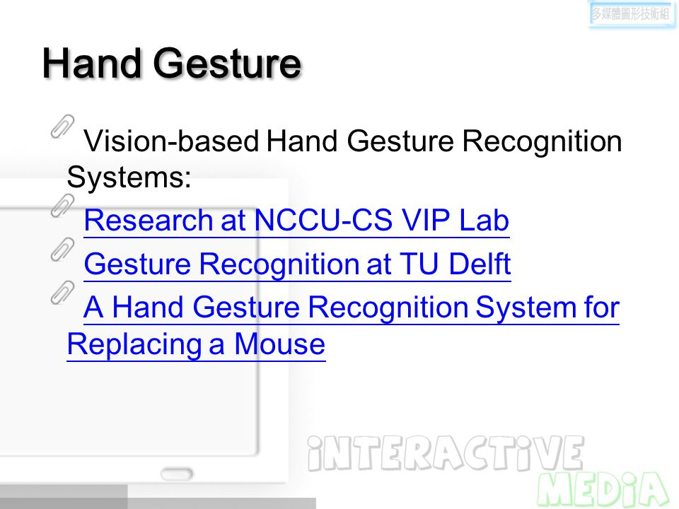 Hand Gesture Vision-based Hand Gesture Recognition Systems: