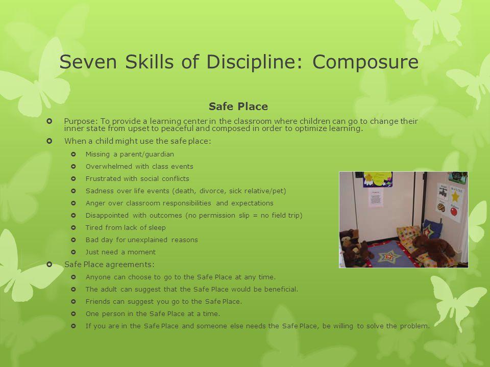 Seven Skills of Discipline: Composure