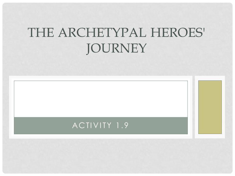 The Archetypal Heroes Journey