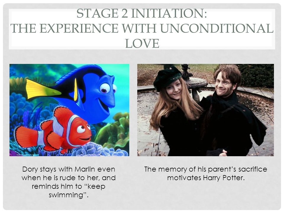 Stage 2 Initiation: The Experience with Unconditional Love