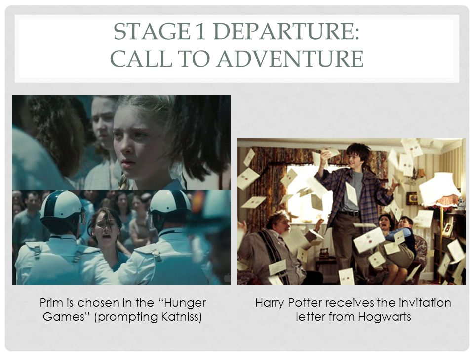 Stage 1 Departure: Call to Adventure