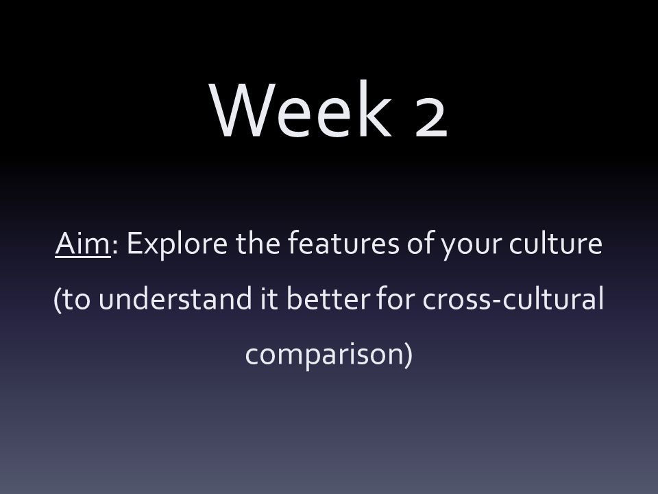 a comparison of the features of culture and social culture The term cross-cultural emerged in the social sciences in the 1930s,  (often accompanied by further culture shock) social obstacles such as discrimination.