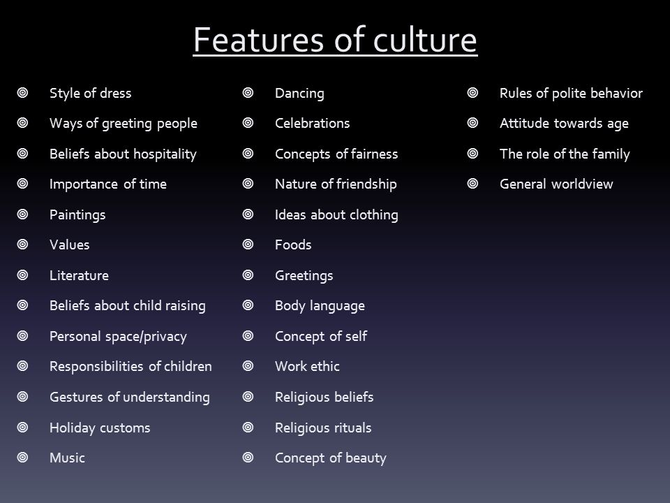 define the concept of culture pdf