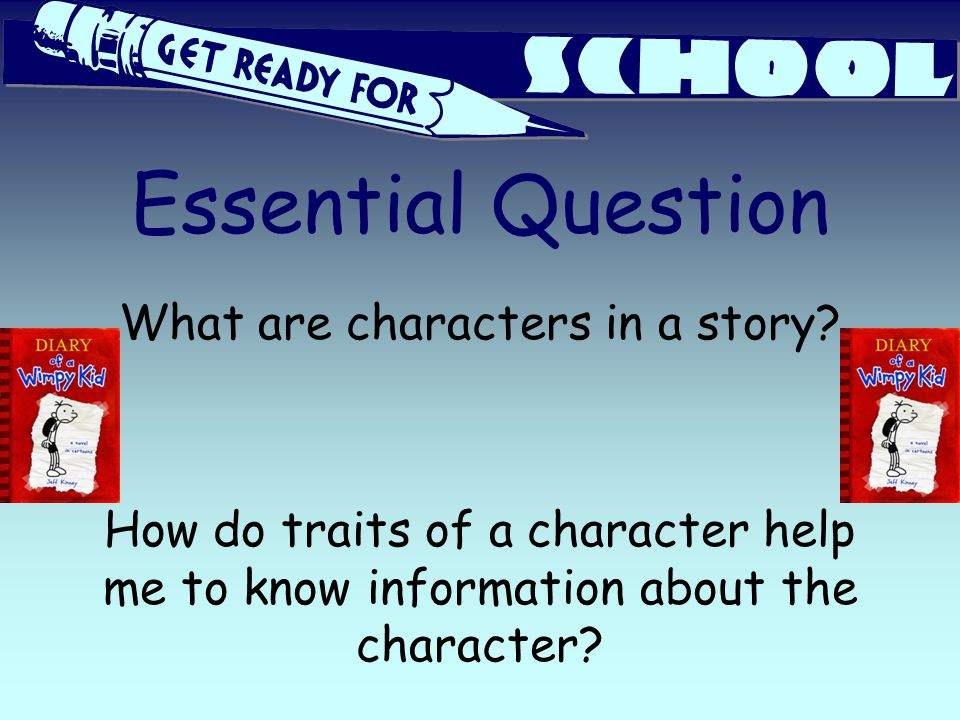 What are characters in a story