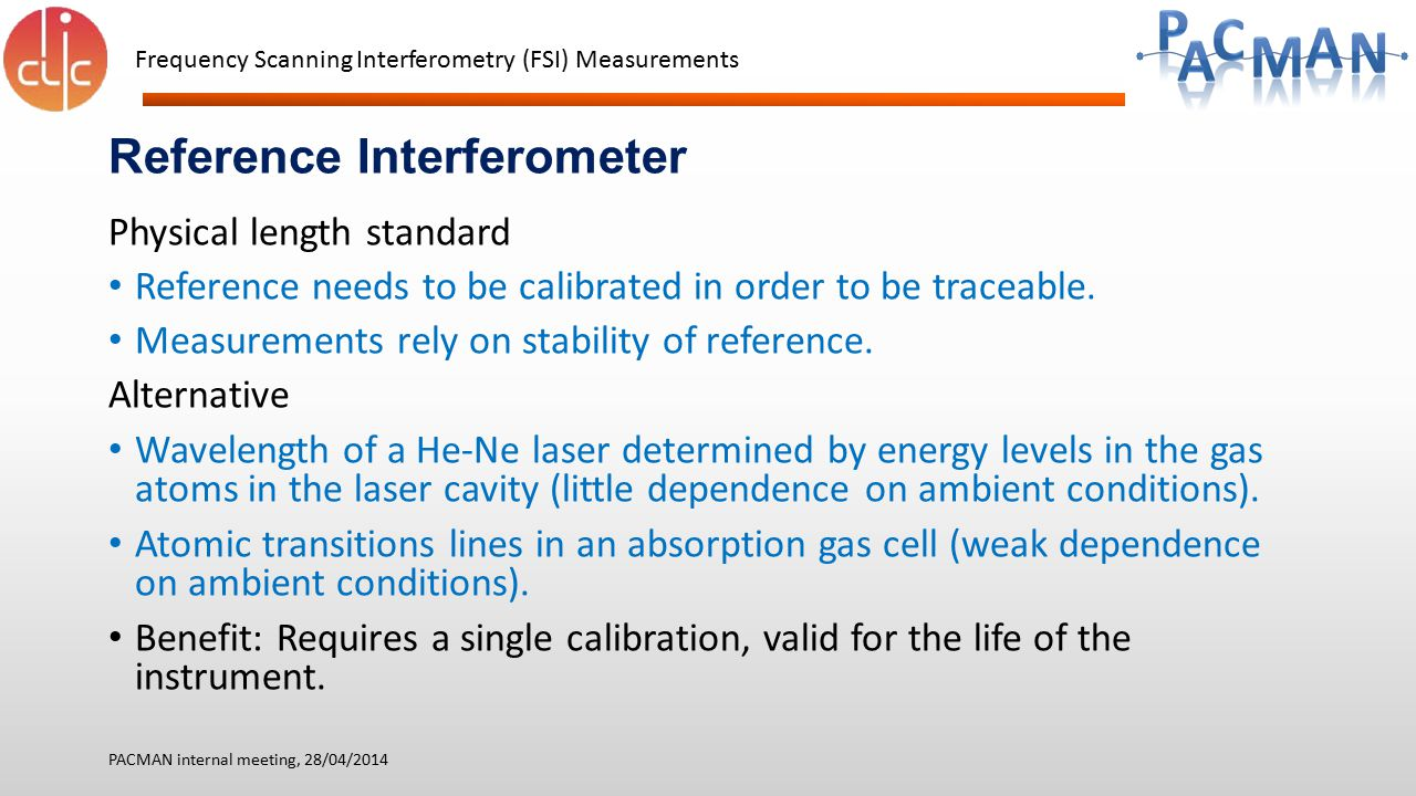 Reference Interferometer