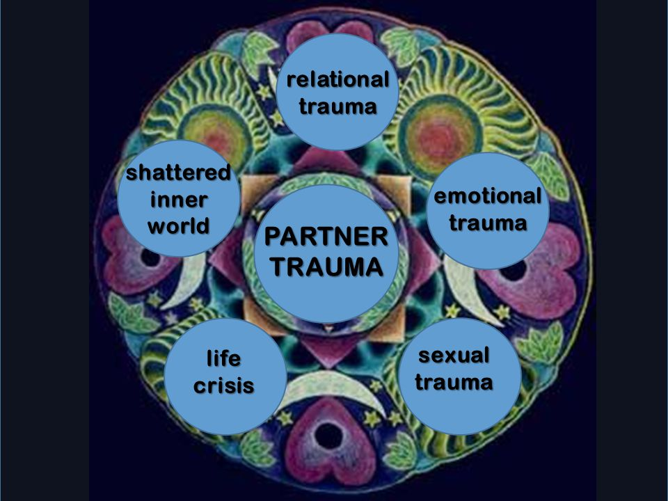 PARTNER TRAUMA relational trauma shattered inner emotional trauma
