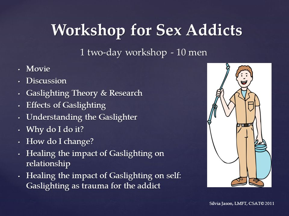 Workshop for Sex Addicts
