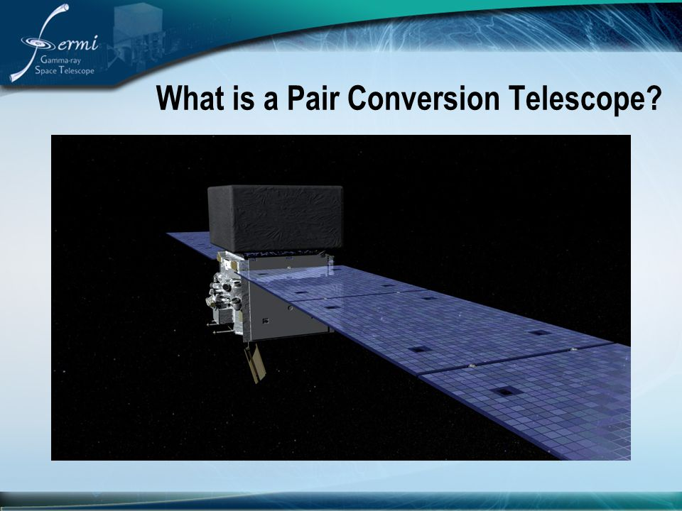 What is a Pair Conversion Telescope
