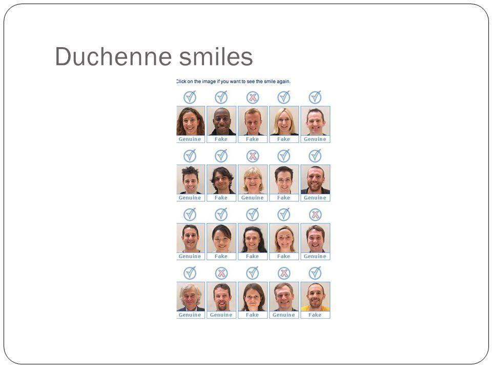 Duchenne smiles