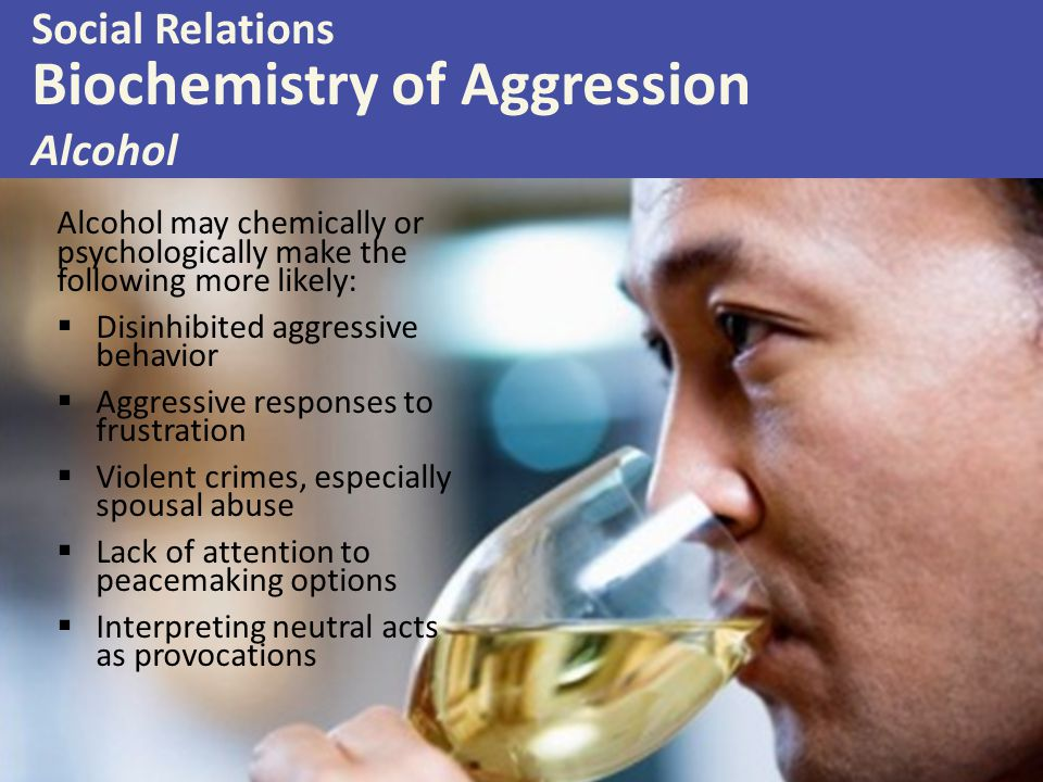 Biochemistry of Aggression