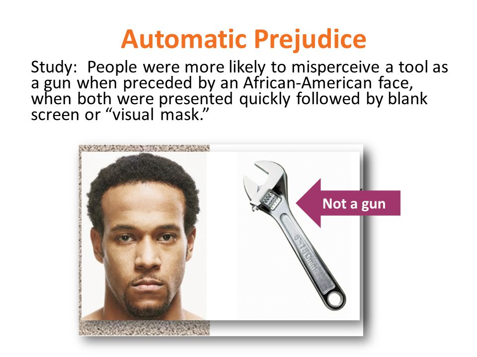 Automatic Prejudice