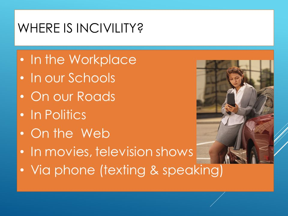 In movies, television shows Via phone (texting & speaking)