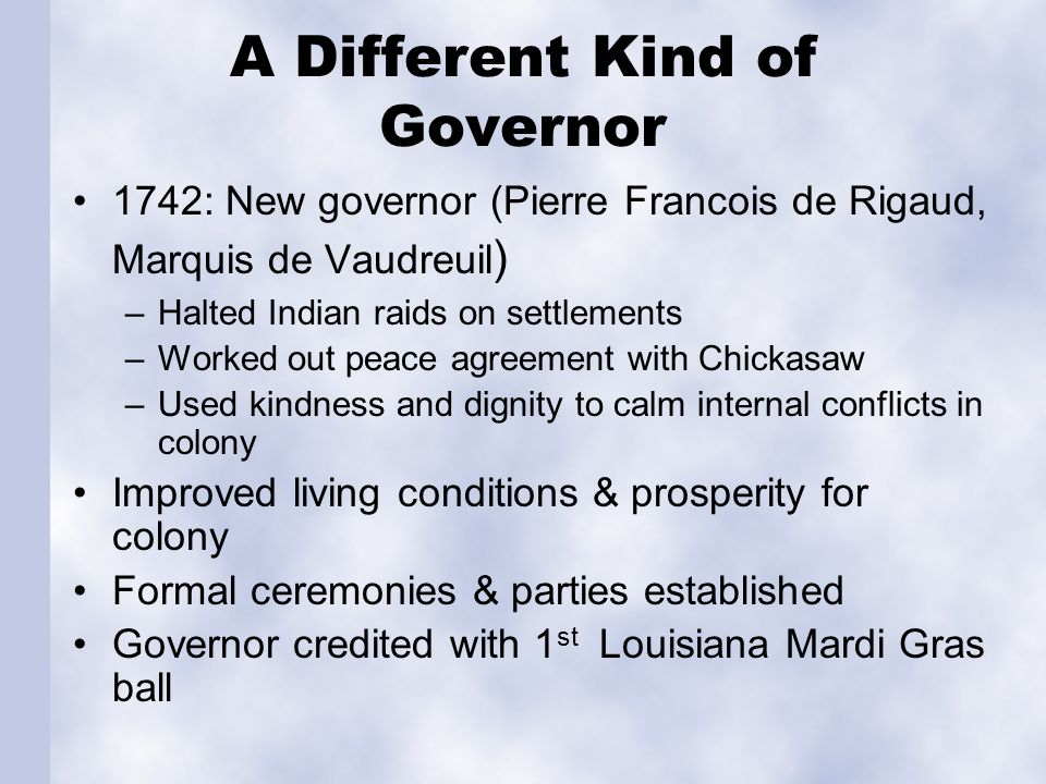 The Last French Years 1752: Vaudreuil designated as governor of Canada