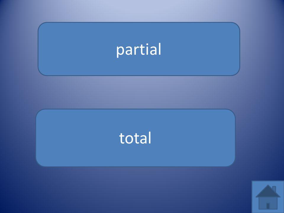 partial total