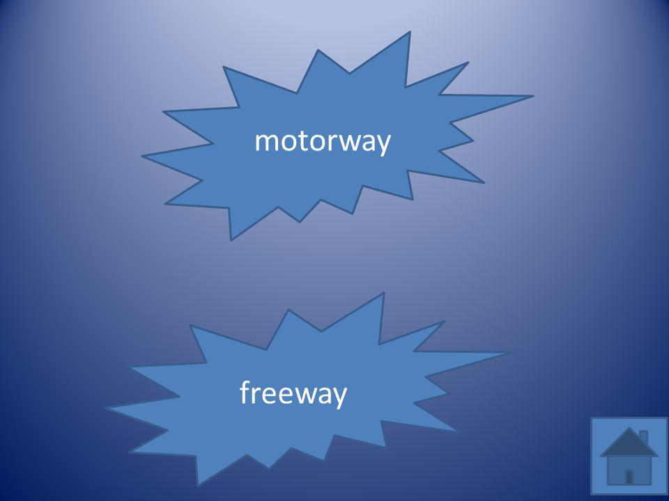 motorway freeway