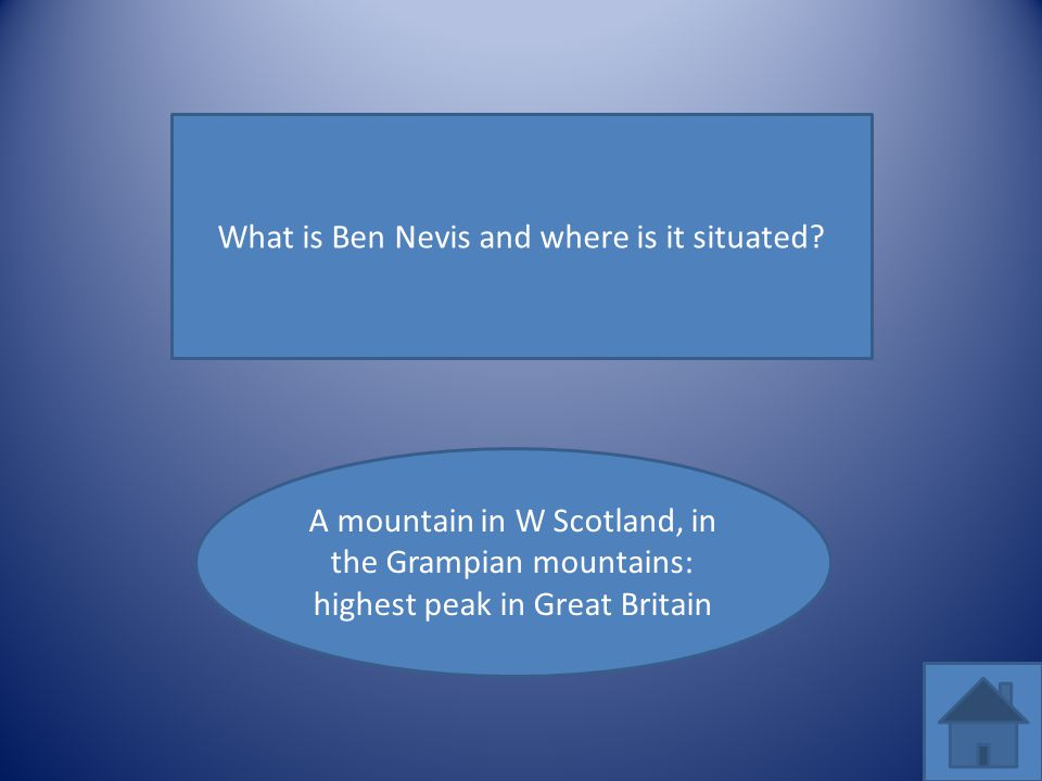 What is Ben Nevis and where is it situated