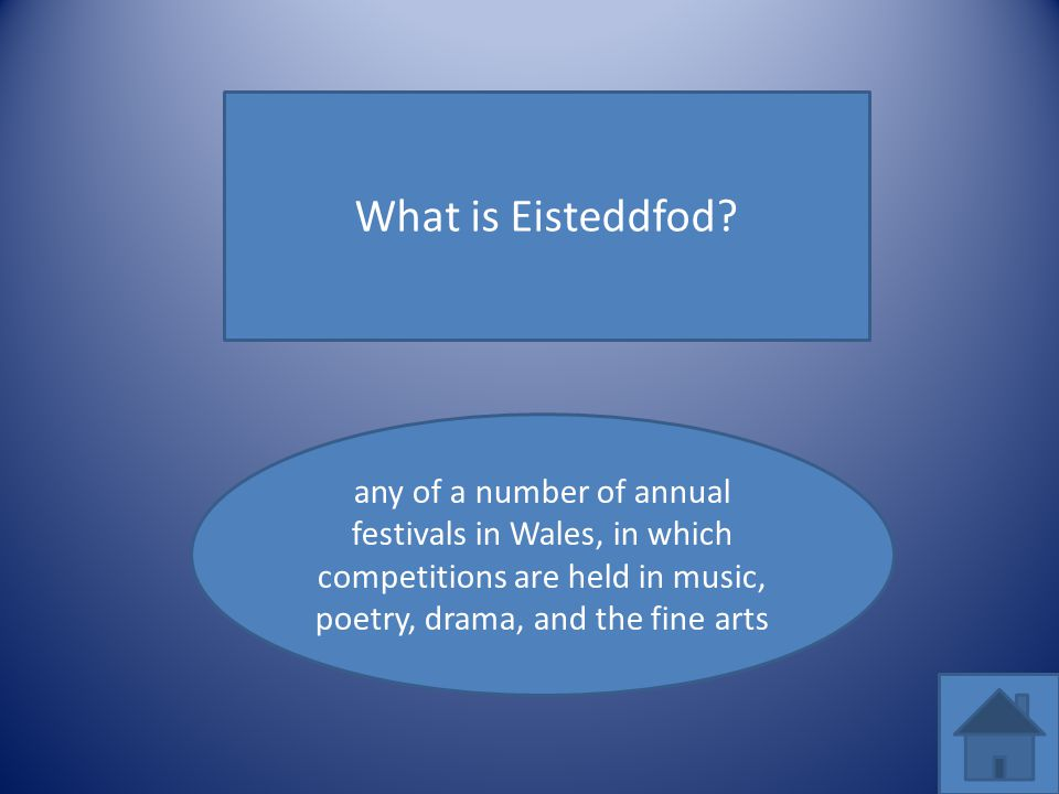 What is Eisteddfod.