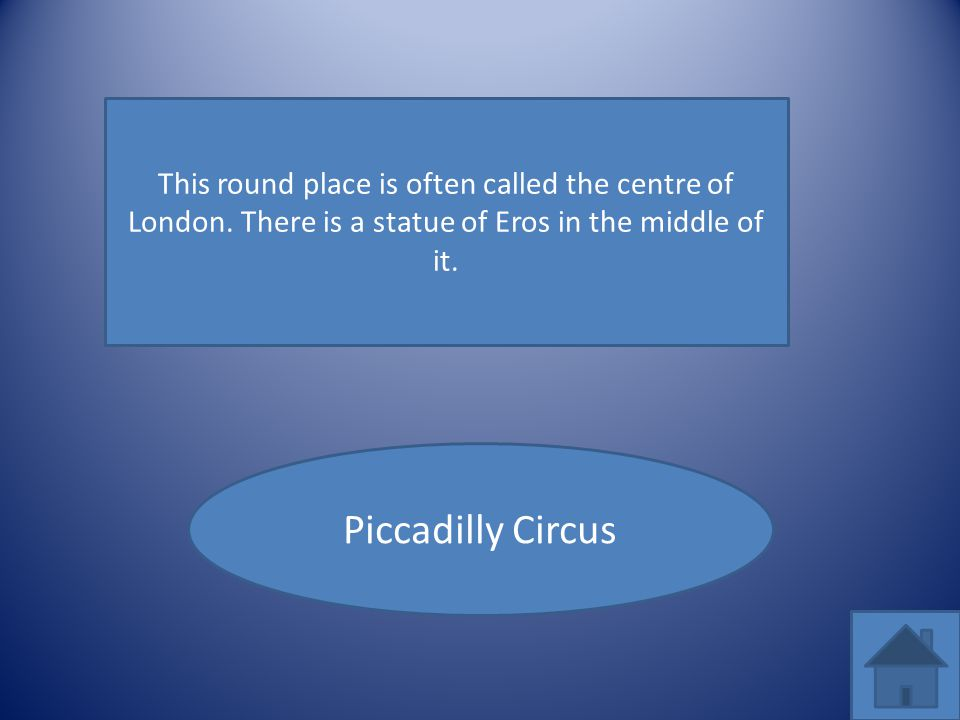 This round place is often called the centre of London
