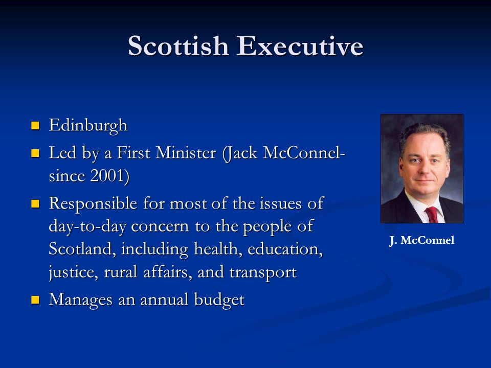 Scottish Executive Edinburgh