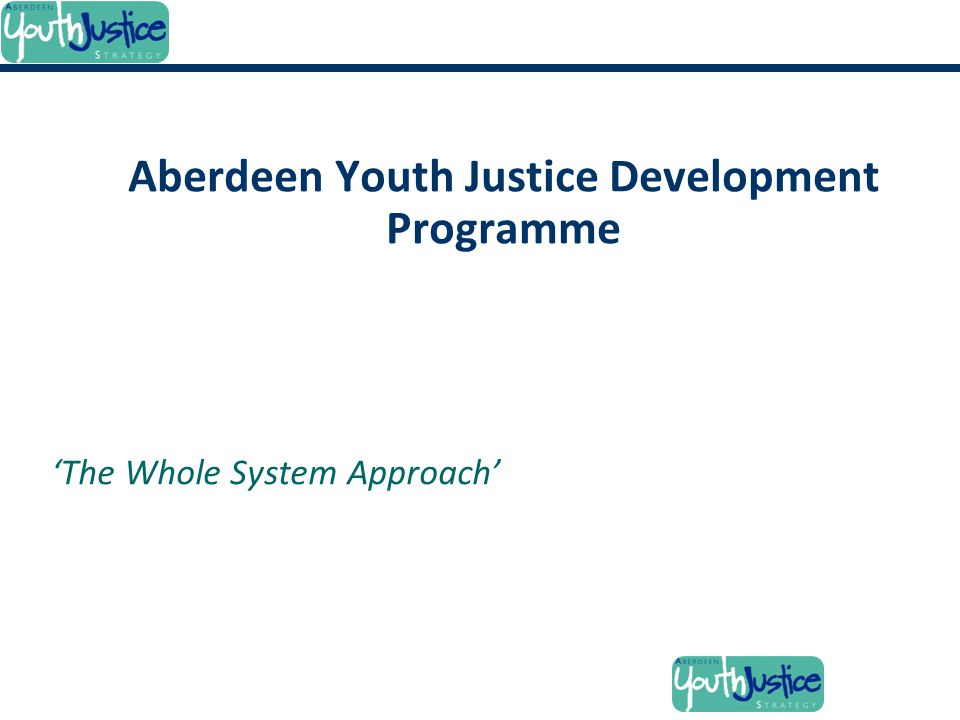 Aberdeen Youth Justice Development Programme