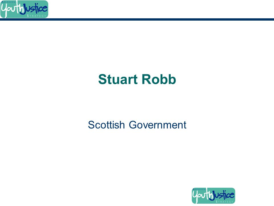 Stuart Robb Scottish Government