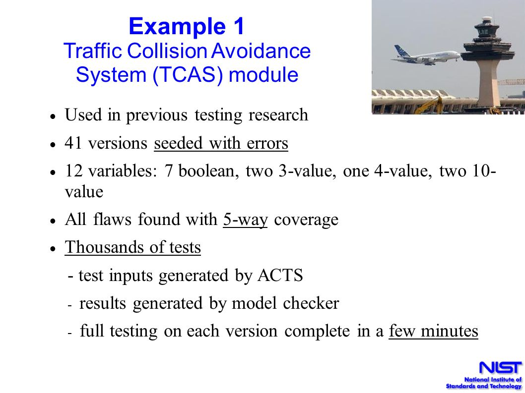 Traffic Collision Avoidance System (TCAS) module