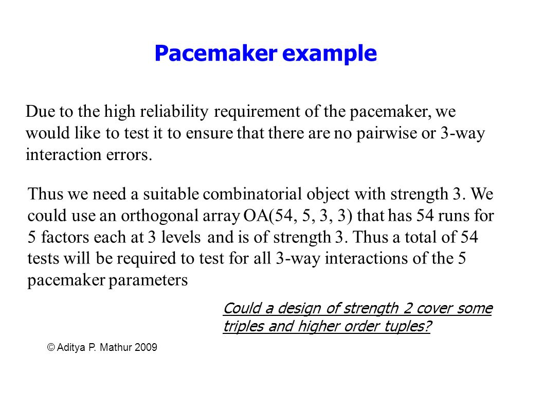 Pacemaker example