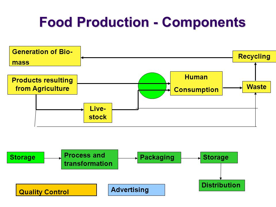 Food Production - Components