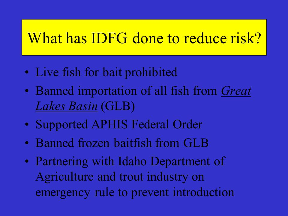 What has IDFG done to reduce risk