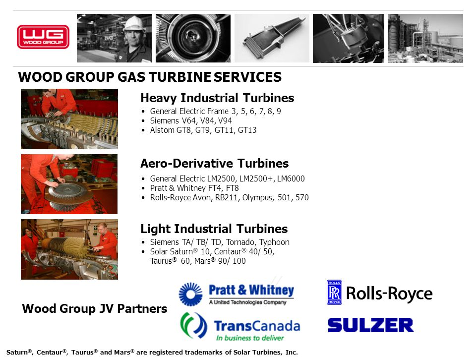 WOOD GROUP GAS TURBINE SERVICES