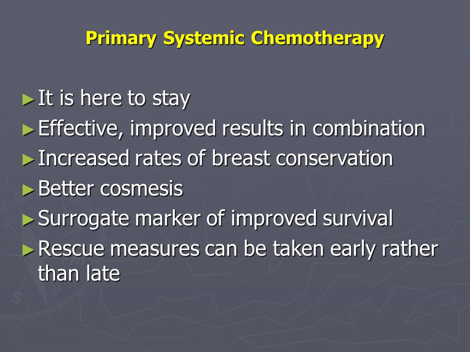 Primary Systemic Chemotherapy