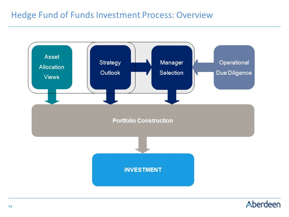 Hedge Fund of Funds Investment Process: Overview