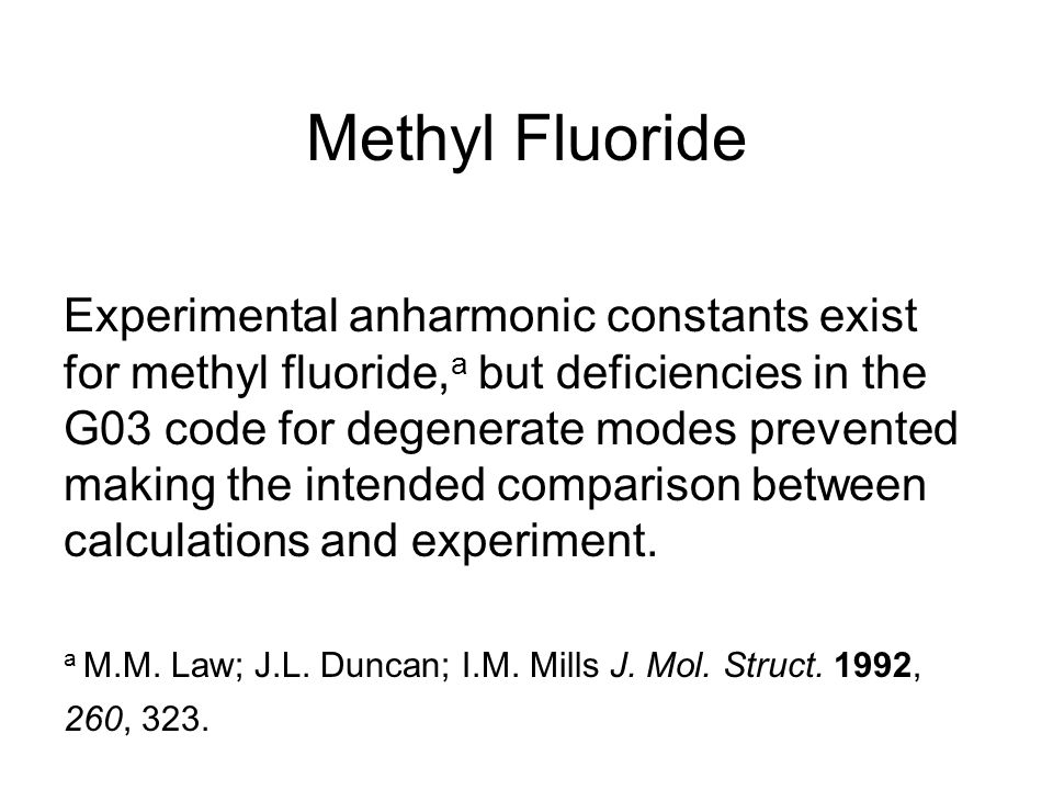 Methyl Fluoride