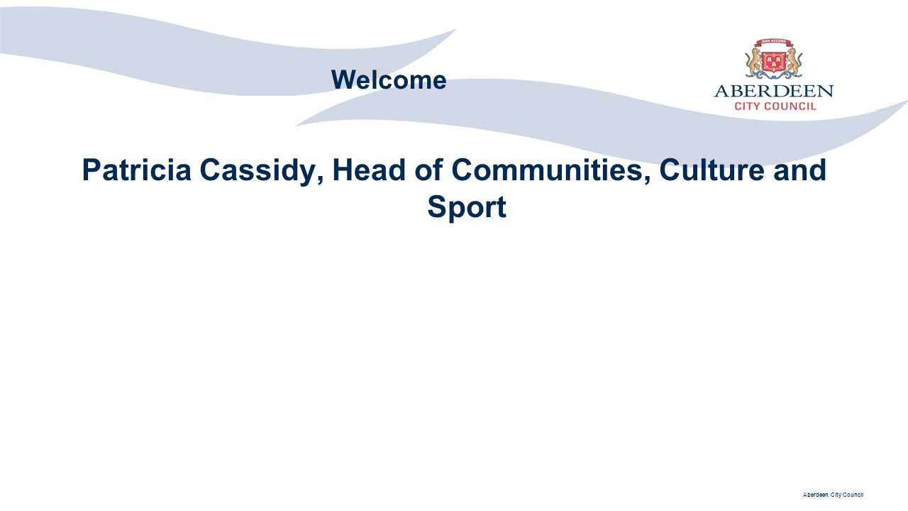 Patricia Cassidy, Head of Communities, Culture and Sport