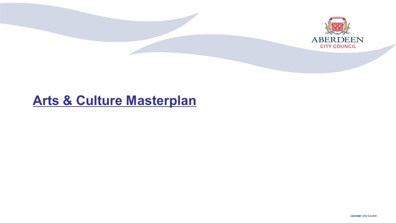 Arts & Culture Masterplan