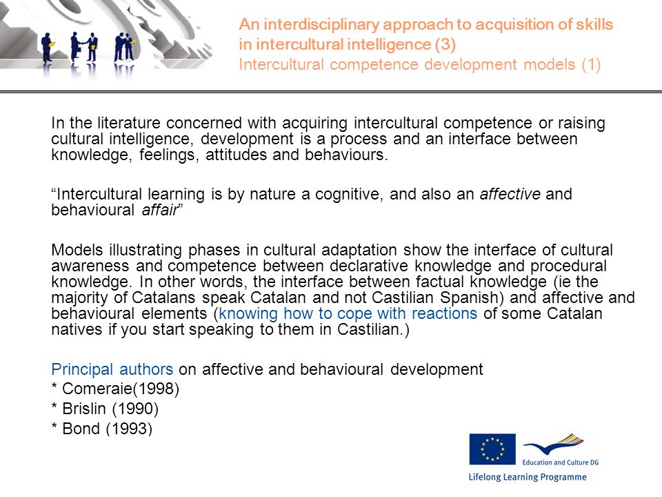 Principal authors on affective and behavioural development