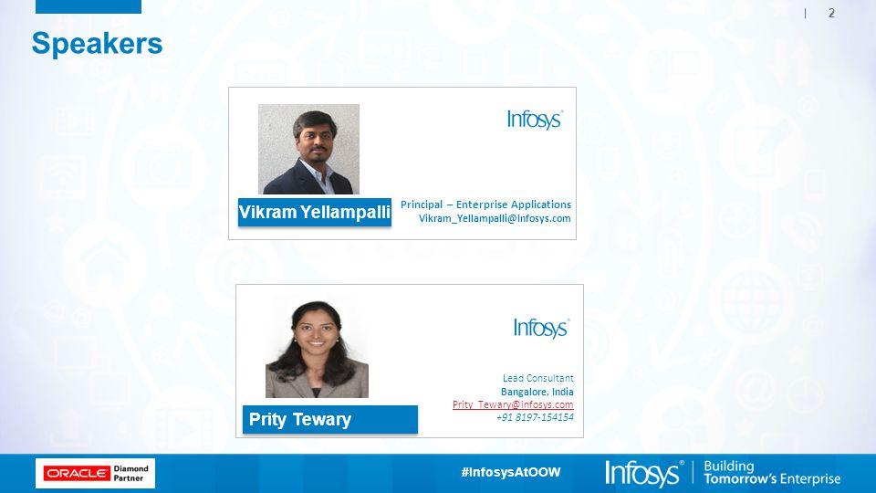 Speakers Vikram Yellampalli Prity Tewary