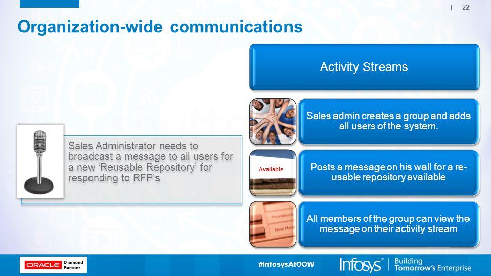 Organization-wide communications