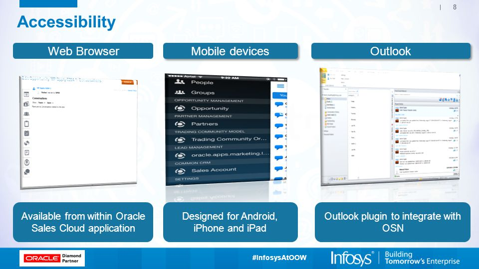 Accessibility Web Browser Mobile devices Outlook