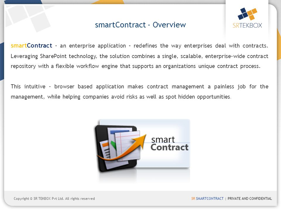 smartContract - Overview