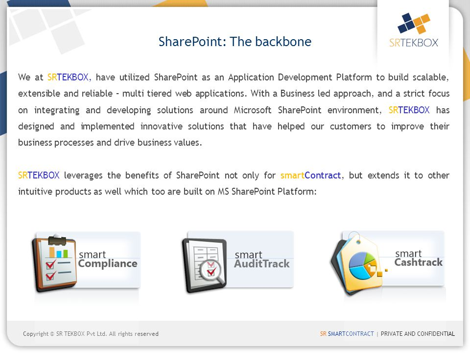 SharePoint: The backbone