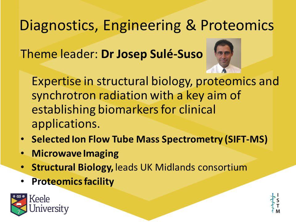 Diagnostics, Engineering & Proteomics