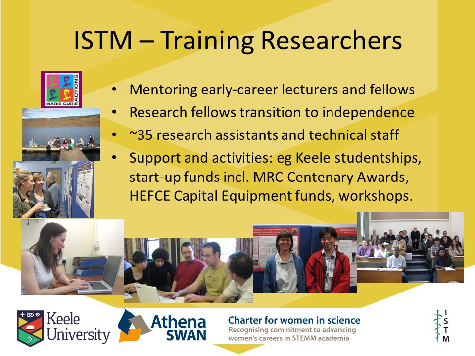 ISTM – Training Researchers