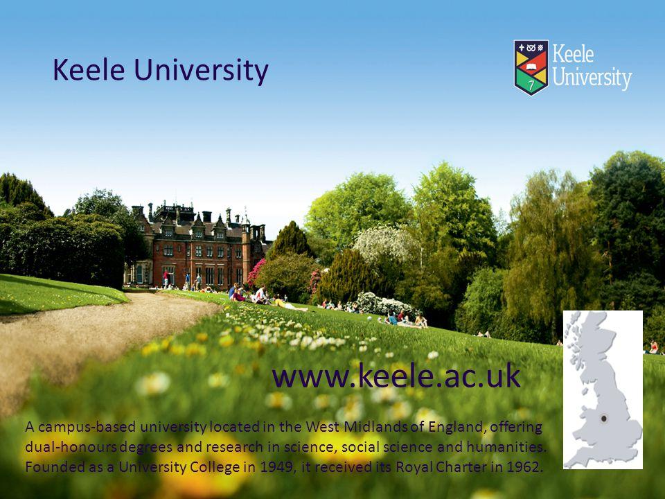 www.keele.ac.uk Keele University