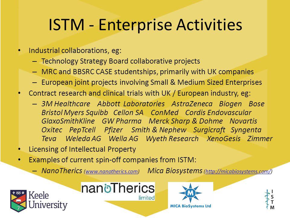 ISTM - Enterprise Activities