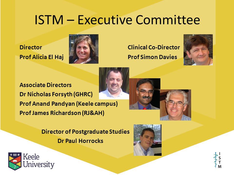 ISTM – Executive Committee